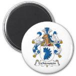 Escudo de la familia de Lichtenstein Imanes