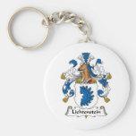 Escudo de la familia de Lichtenstein Llaveros