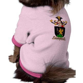 Escudo de la familia de Liebenberg Camisetas De Perro