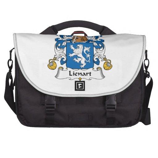 Escudo de la familia de Lienart Bolsas De Portátil