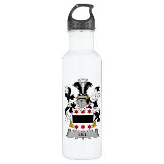 Escudo de la familia de Lill Botella De Agua