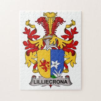 Escudo de la familia de Lilliecrona Puzzle