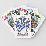 Escudo de la familia de Limbek Baraja Cartas De Poker