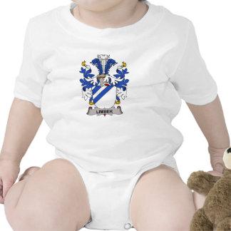 Escudo de la familia de Limbek Camisetas