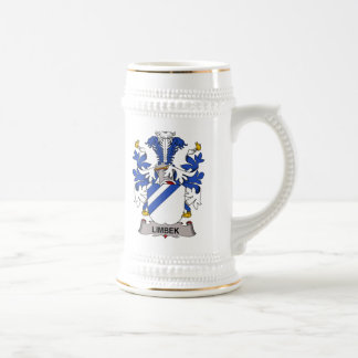 Escudo de la familia de Limbek Tazas De Café