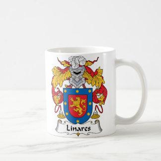 Escudo de la familia de Linares Taza Clásica
