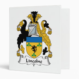 """Escudo de la familia de Lincolne Carpeta 1"""""""