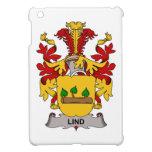 Escudo de la familia de Lind iPad Mini Carcasas