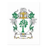 Escudo de la familia de Linde Postal