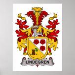 Escudo de la familia de Lindegren Impresiones