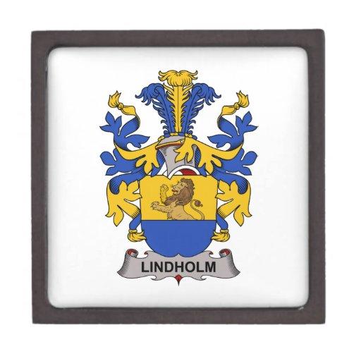 Escudo de la familia de Lindholm Caja De Joyas De Calidad