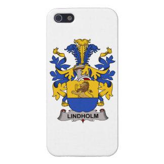 Escudo de la familia de Lindholm iPhone 5 Carcasas