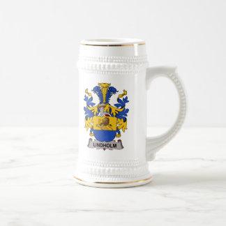 Escudo de la familia de Lindholm Jarra De Cerveza