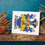 Escudo de la familia de Lindholm Placas Para Mostrar