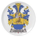 Escudo de la familia de Lindholm Platos