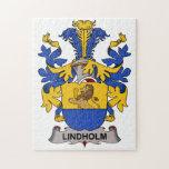 Escudo de la familia de Lindholm Puzzle