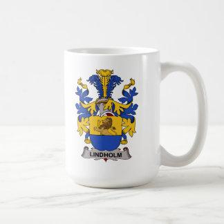 Escudo de la familia de Lindholm Taza De Café