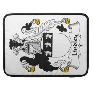 Escudo de la familia de Lindley Funda Para Macbook Pro