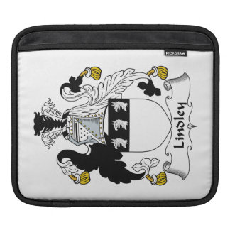 Escudo de la familia de Lindley Mangas De iPad