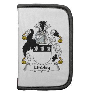 Escudo de la familia de Lindley Planificadores