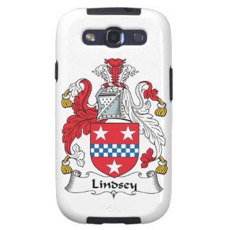 Escudo de la familia de Lindsey Samsung Galaxy S3 Funda
