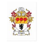 Escudo de la familia de Lingen Postales