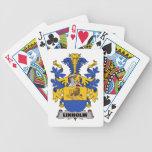 Escudo de la familia de Linholm Baraja Cartas De Poker