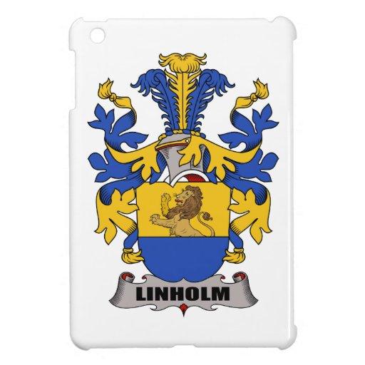 Escudo de la familia de Linholm iPad Mini Funda