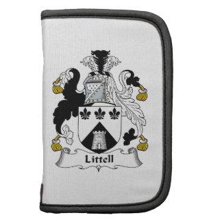 Escudo de la familia de Littell Organizador