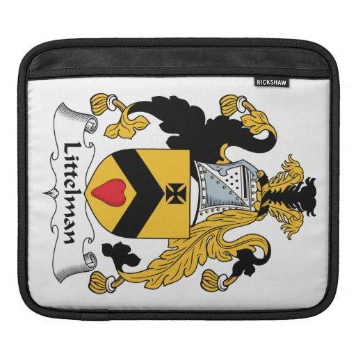 Escudo de la familia de Littelman Funda Para iPads