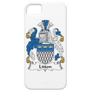 Escudo de la familia de Litton iPhone 5 Case-Mate Cobertura