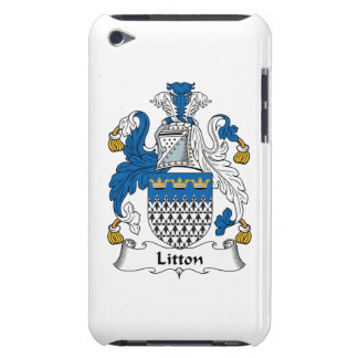 Escudo de la familia de Litton Case-Mate iPod Touch Carcasas
