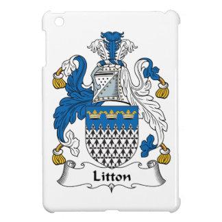 Escudo de la familia de Litton iPad Mini Funda
