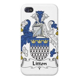 Escudo de la familia de Litton iPhone 4/4S Carcasa