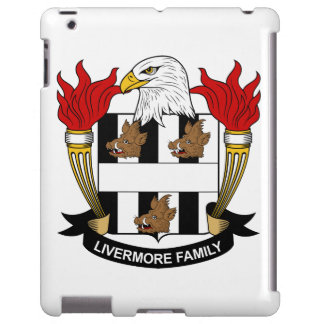 Escudo de la familia de Livermore Funda Para iPad