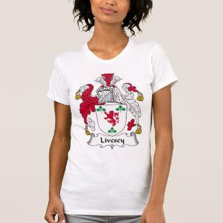 Escudo de la familia de Livesey Camiseta