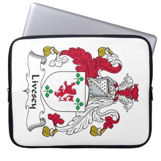 Escudo de la familia de Livesey Fundas Computadoras