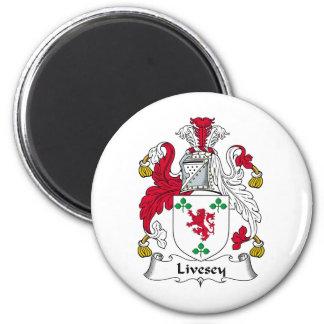 Escudo de la familia de Livesey Iman De Frigorífico