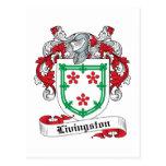 Escudo de la familia de Livingston Postal
