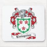 Escudo de la familia de Livingston Alfombrilla De Ratones