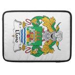 Escudo de la familia de Llano Fundas Macbook Pro