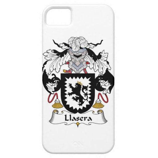 Escudo de la familia de Llasera iPhone 5 Case-Mate Funda