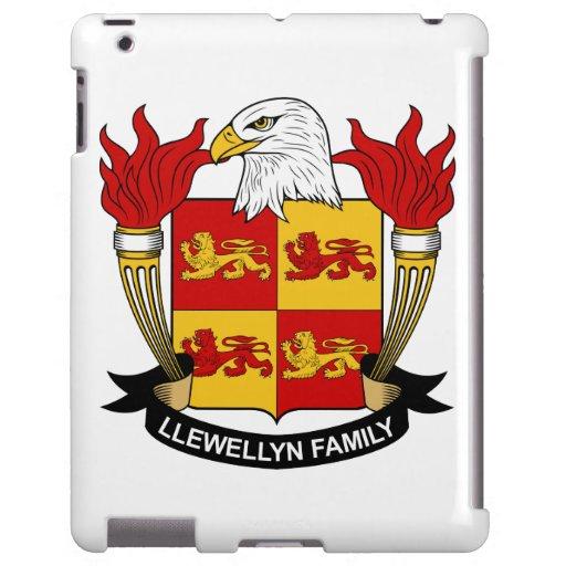 Escudo de la familia de Llewellyn Funda Para iPad