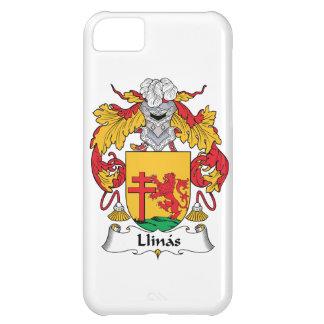 Escudo de la familia de Llinas Funda Para iPhone 5C