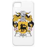 Escudo de la familia de Llobet iPhone 5 Funda