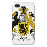 Escudo de la familia de Lloyd iPhone 4/4S Fundas