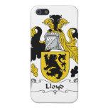 Escudo de la familia de Lloyd iPhone 5 Protector