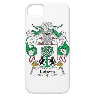 Escudo de la familia de Lobera iPhone 5 Protectores