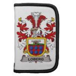 Escudo de la familia de Loberg Organizadores