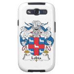 Escudo de la familia de Lobia Galaxy S3 Cárcasas